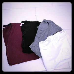 Bundle of 4 cardigans
